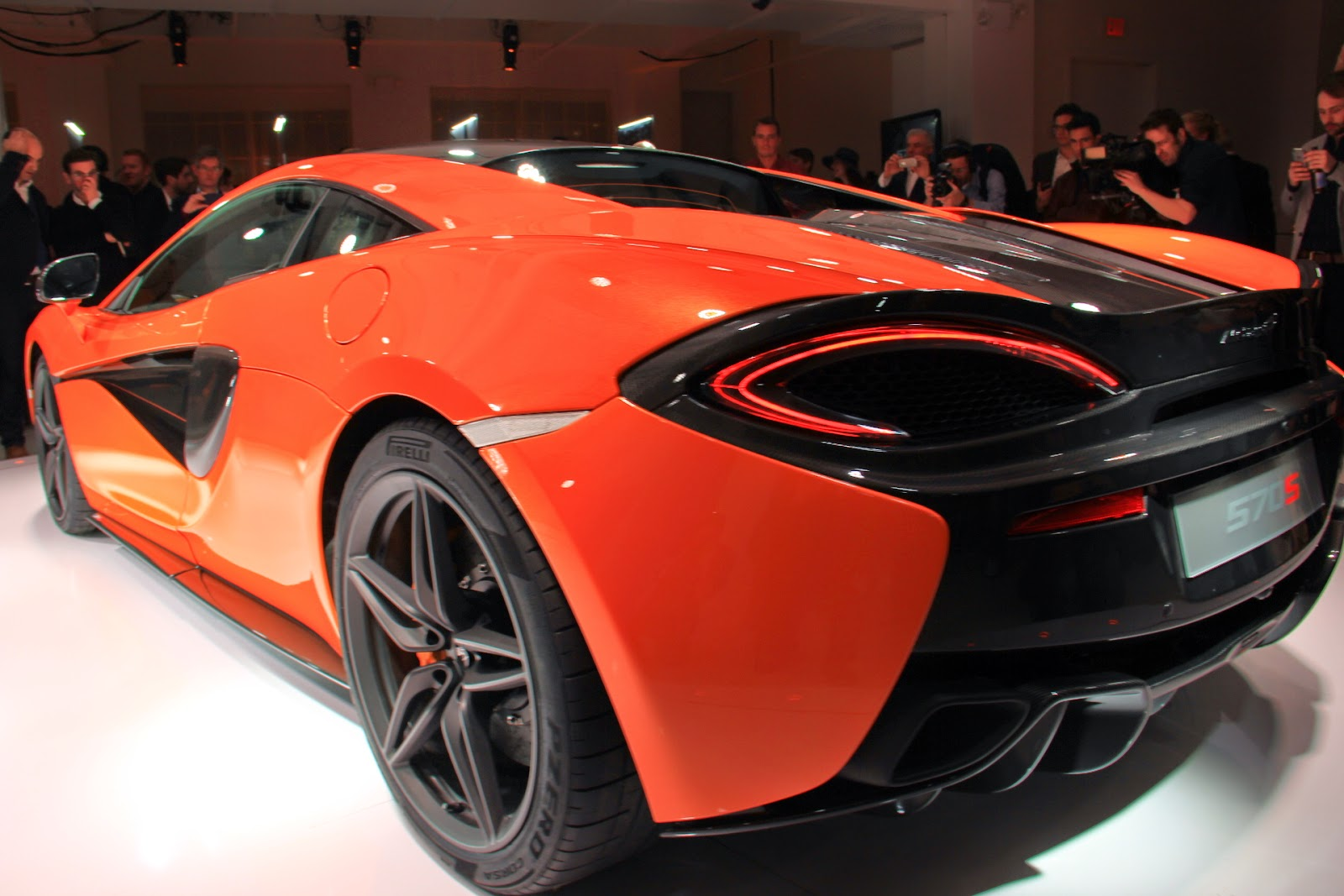 We Take A Close Look At Mclaren S New 570s At Launch Event
