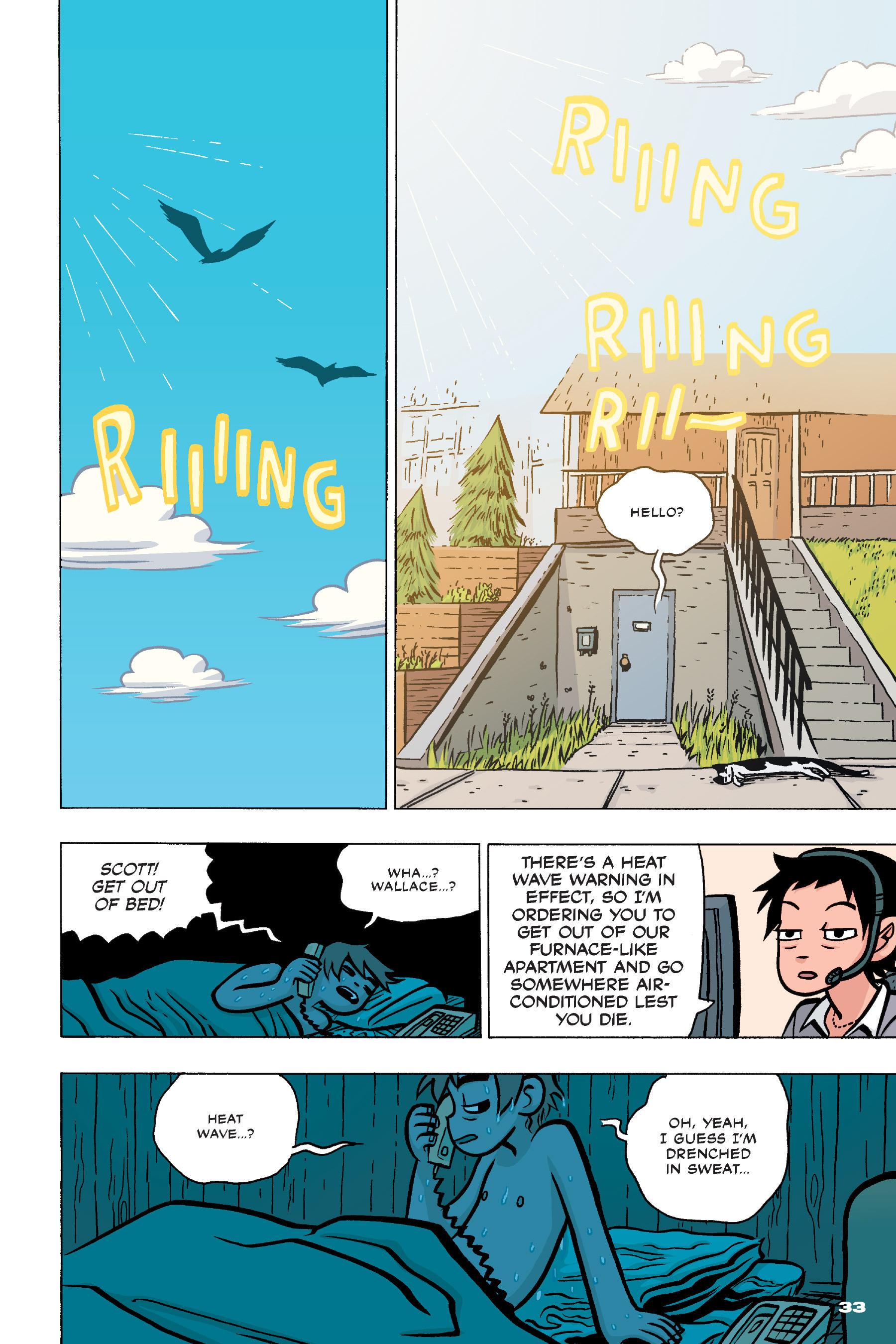 Read online Scott Pilgrim comic -  Issue #4 - 32