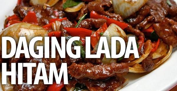 Daging Lada Hitam Resep Masakan Praktis Mudah
