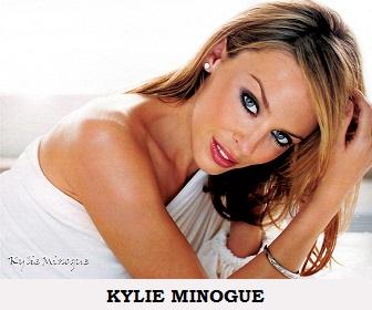 Australian Singer Actress Kylie Minogue Poster