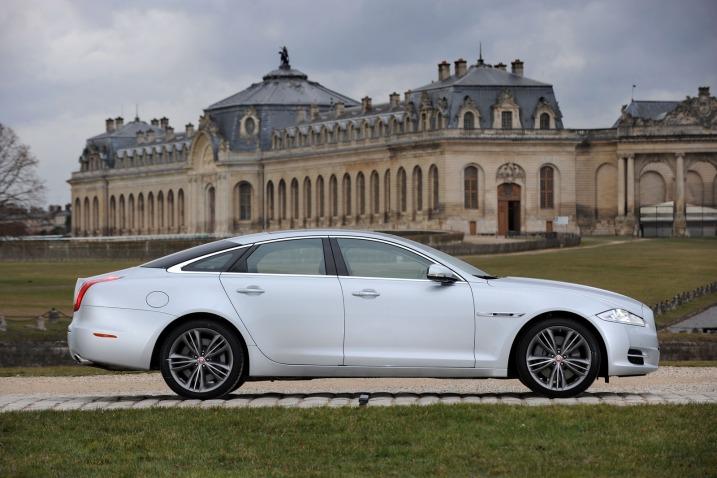 Jaguar Xj 2011 White. Jaguar Xj 2011 White