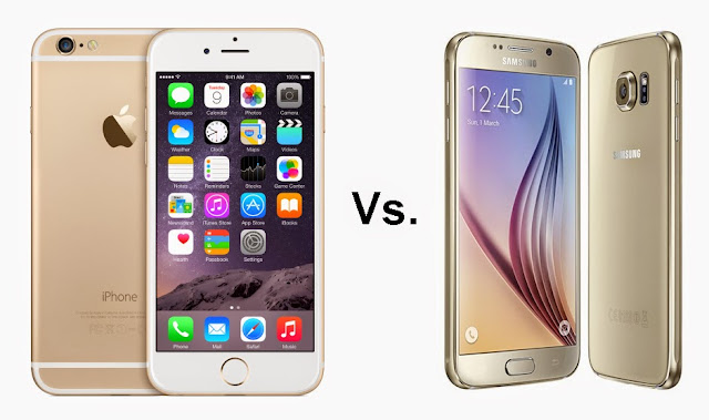 iPhone 6 vs Galaxy S6