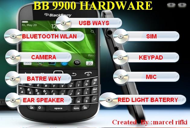 BLACKBERRY 9900 HARDWARE SOLUTION BY MARCEL RIFKI