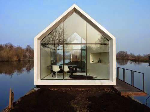 Small Holiday Home Design By 2by4 Architects