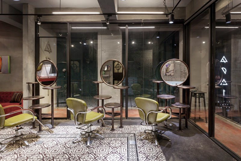 QPOT Hair Salon, Taiwan, HAO Design Studio