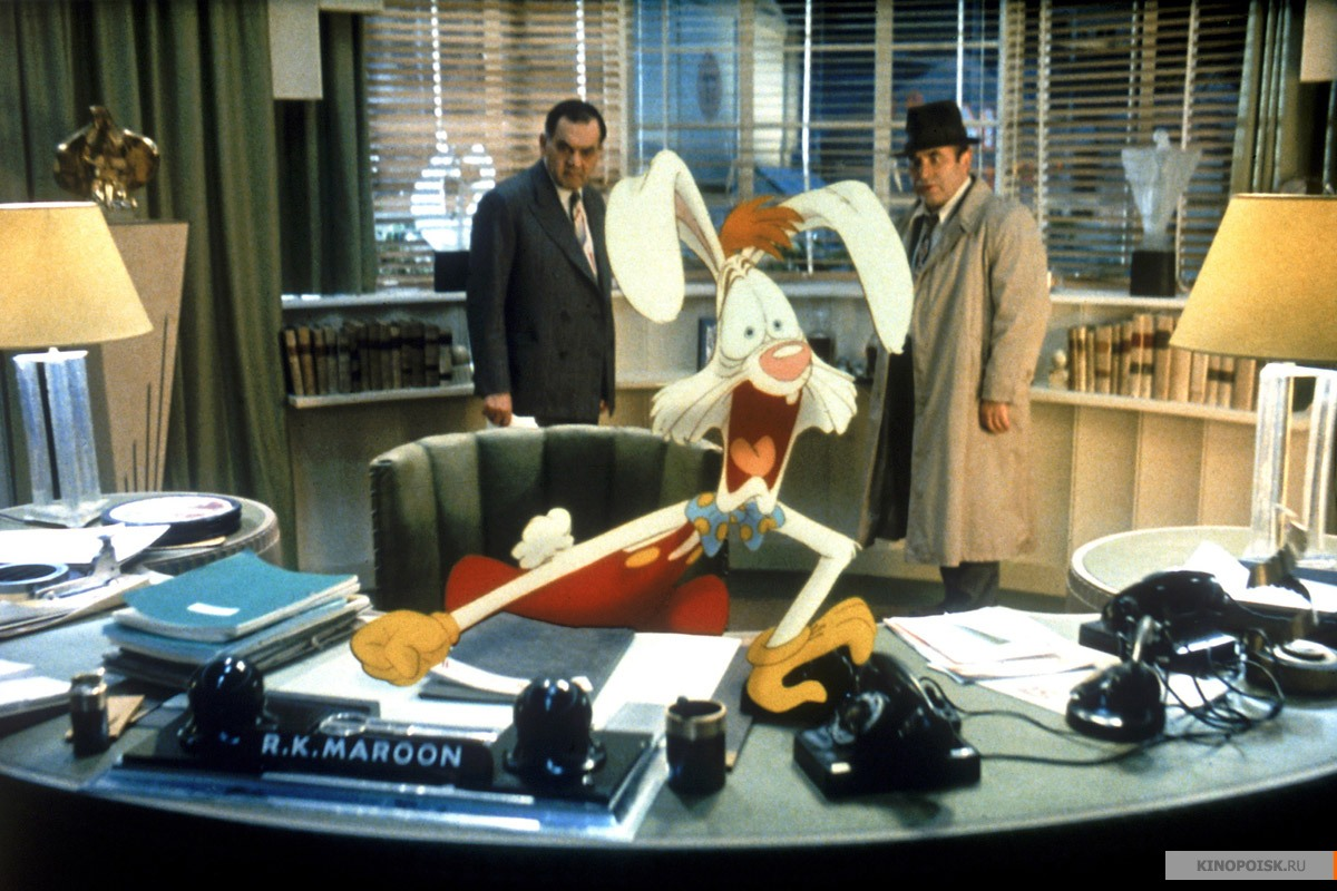 El Bar Cinéfilo De Farfaramir: ¿Quién engañó a Roger Rabbit?