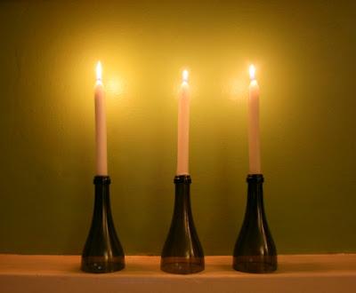 recycled glass, uganda, candle holders, good glass