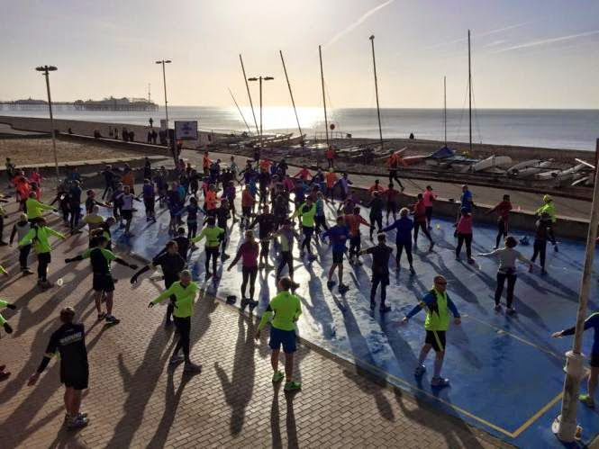 RunBrighton marathon training runs - Brighton