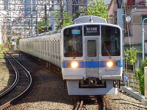 小田急電鉄 区間準急 向ヶ丘遊園行き2 2000形