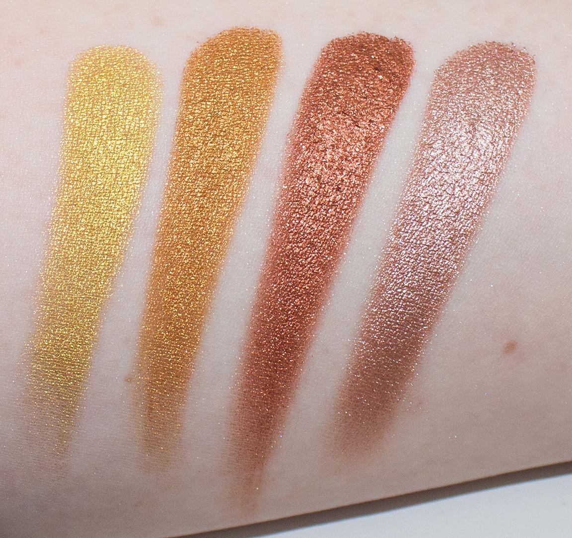 Makeup Geek Foiled Eyeshadow Grandstand Review