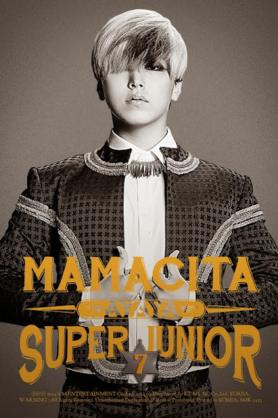 Super Junior Mamacita Ayaya Sungmin