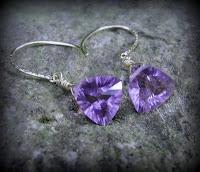 MyWayToSay - handmade jewelry worldwide: Rare cut stones - amethyst from knotartwa.blogspot.com