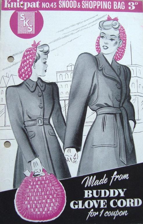Stitching Always: Vintage Snood Pattern