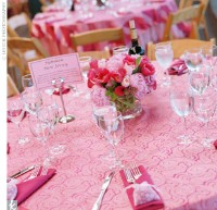 Pink Table Setting & Pink Wedding Table Settings u0026 39 Romantic Grey And Pink Wedding ...