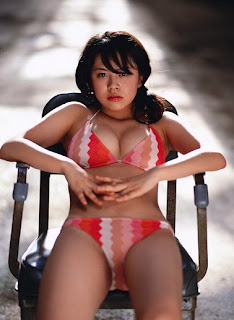 Kyoko Kamidozono Japanese Hot Idol Sexy Hot Swimsuit Photo Gallery 10