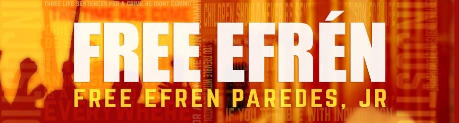 Free Efren Orange Banner