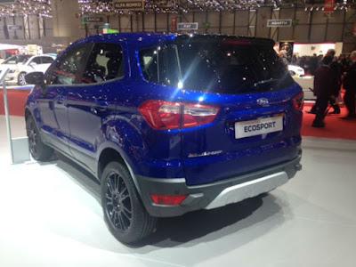 Ford Ecosport 2016 fotos lançamento mundial