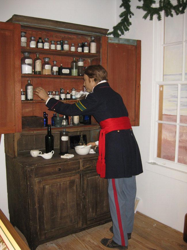 museum of medicine cabinet.
