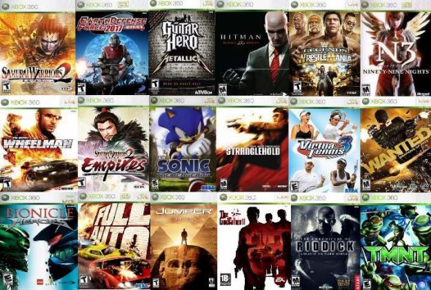 Lo Mejor Aquip Juegos Para Xbox 360