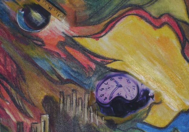 contoh karya seni lukis abstraks