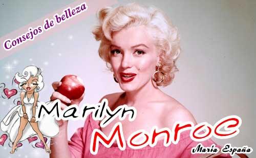 Consejos de belleza de Marilyn Monroe