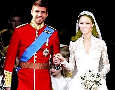 Shakira e Garard Piqué si sposano