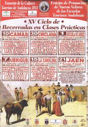 CARTEL CICLO DE BECERRADAS