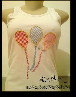 balões, apliques, colorida, blusinha, presente, mulher, feminino
