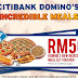Citibank Domino's 100 New Incredible Meals Contest