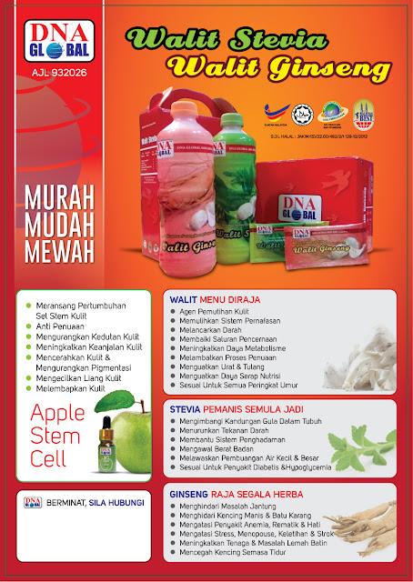 Produk Ajaib  Minuman Sarang Burung Walit Stevia Dan Ginseng
