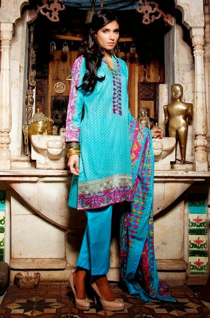 Khaadi Unstitched Summer Collection 2014