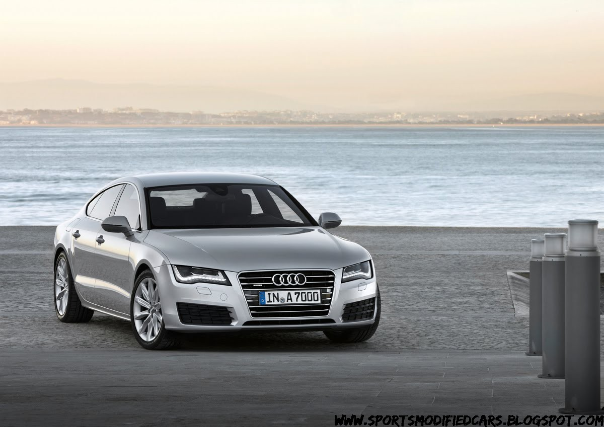 new audi a7 sportback photos released sport cars. Black Bedroom Furniture Sets. Home Design Ideas