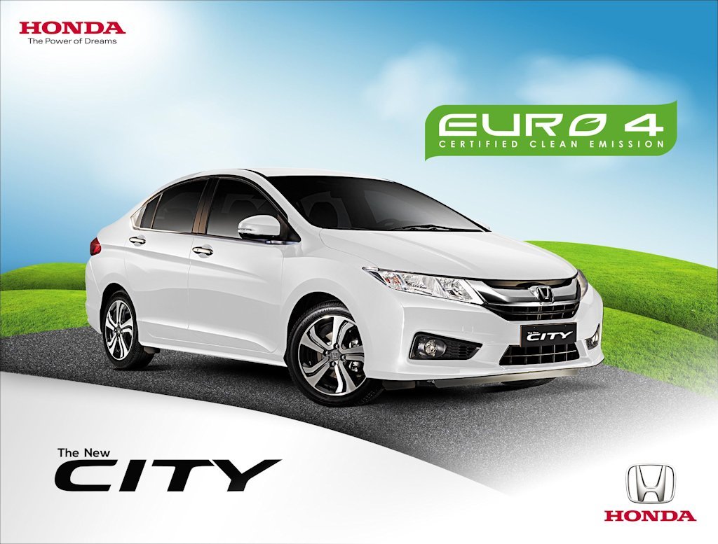 Honda Cars Philippines, Inc. (HCPI) Announces That The New City Has  Officially Acquired EURO 4 Emission Standard Certification From Department  Of ...