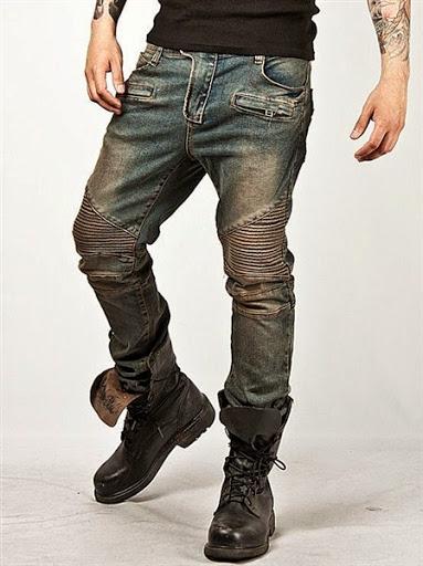 model celana jeans panjang untuk pria terbaru 2017/2018