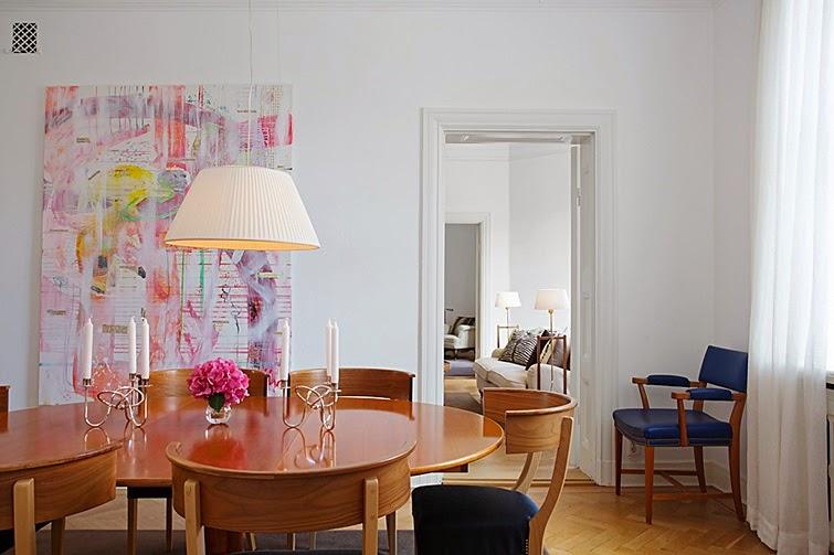 Estilo n rdico con glamour decoraci n - Decoracion nordica escandinava ...