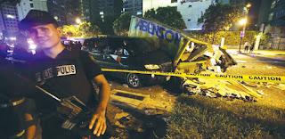 Blast hits condominium,explosion Philippines,manila blast,bomb
