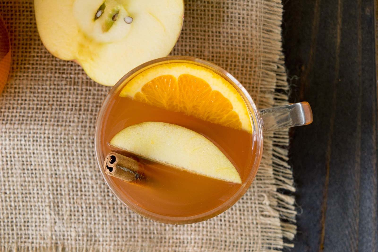Homemade hot apple cider by Janette Fuschi @CulinaryGinger ...