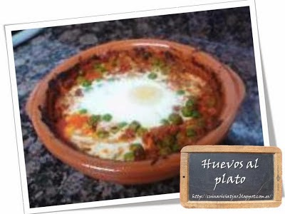 Huevos al plato