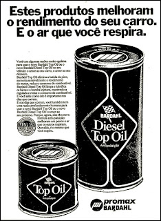Bardahl - 1974, brazilian advertising cars in the 70. os anos 70. história da década de 70; Brazil in the 70s; propaganda carros anos 70; Oswaldo Hernandez;