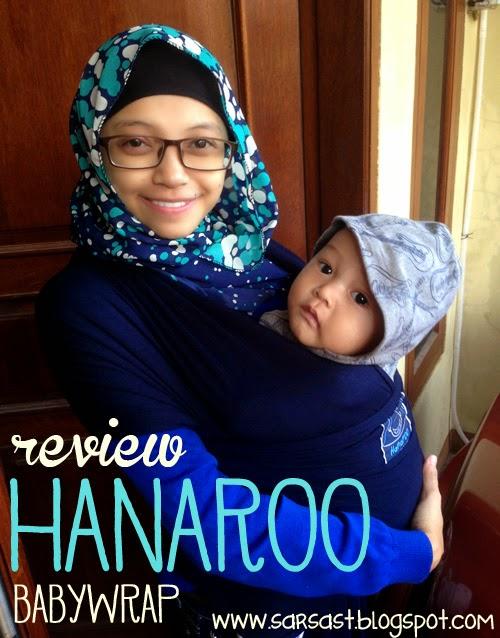 review gendongan bayi hanaroo baby wrap