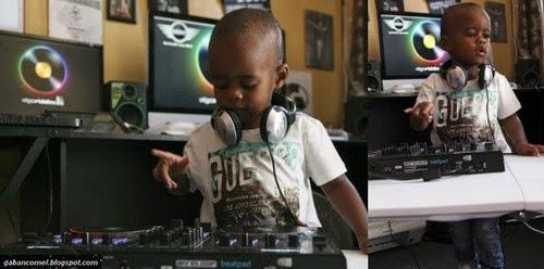 Oratilwe Hlongwane Kanak kanak Dua Tahun Yang Menjadi DJ Termuda di Dunia