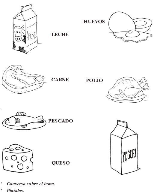 Alimentos de origen animal ~ Maestras Jardineras