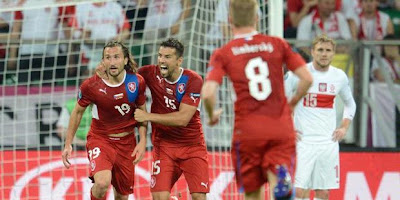 Euro 2012 Score Poland 0 - 1 Czech Republic Reports, Highlights