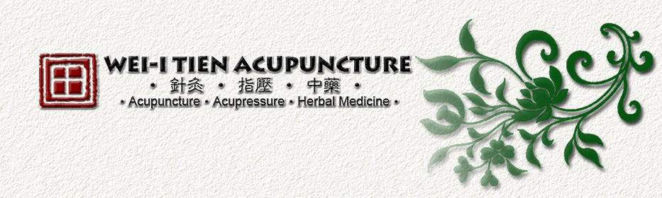 Wei-I Tien Acupuncture