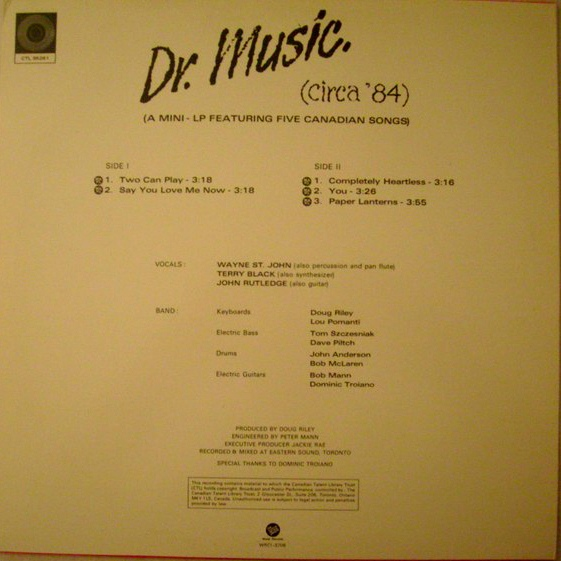 discography example