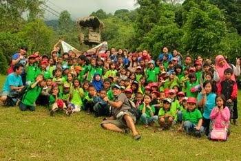 Trekking Ceria BPI & SAJA 9 Juni 2013