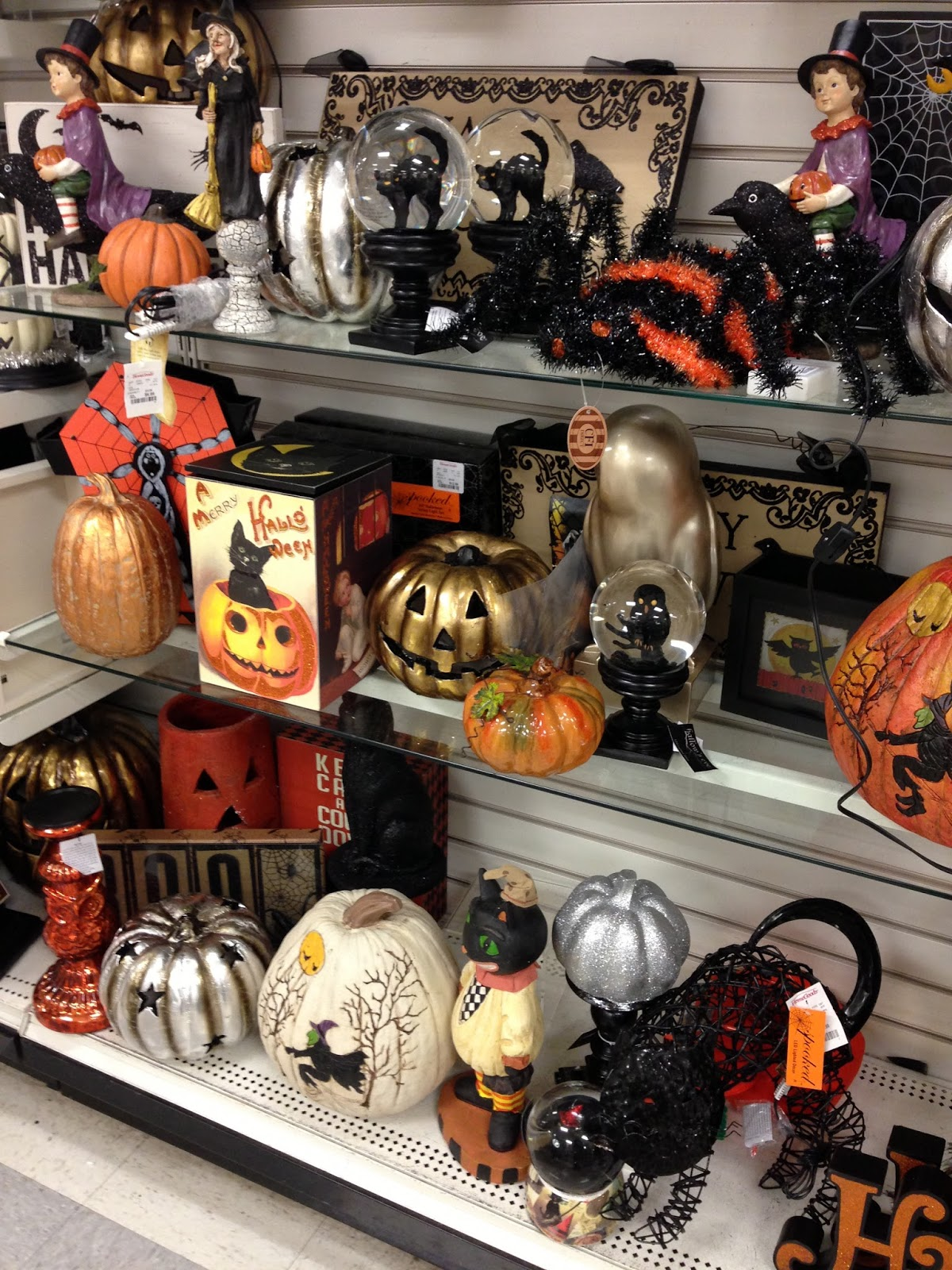 Fright Bites Photo Report Halloween 2013 Finds At Homegoods