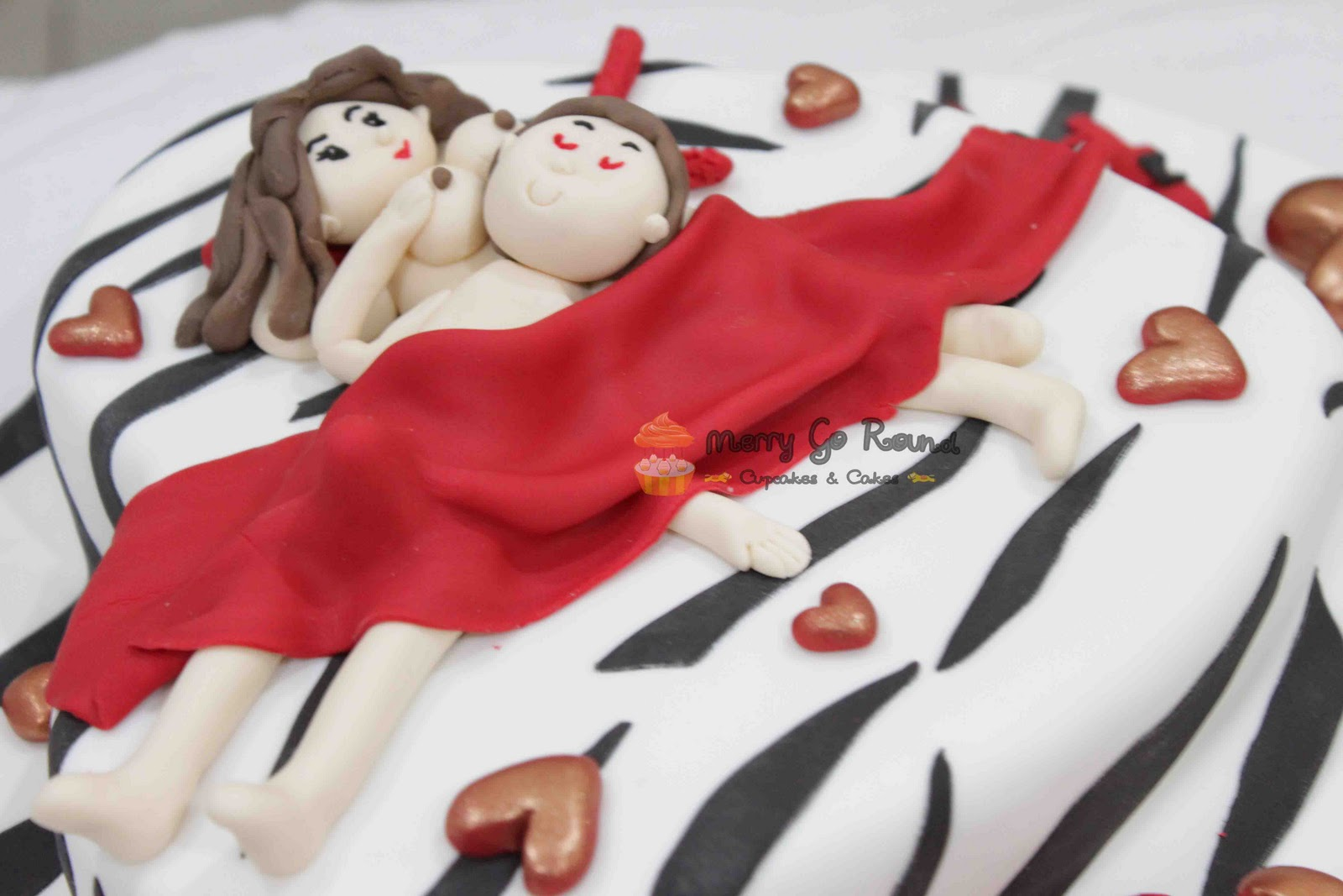 Naughty Bday Cake Images : Merry Go Round - Cupcakes & Cakes: Naughty Bed Cake for ...