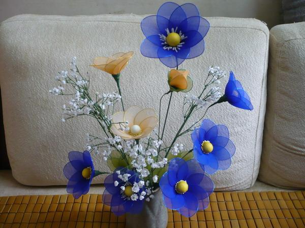 hermosas flores hechas a mano manualidades forlayn