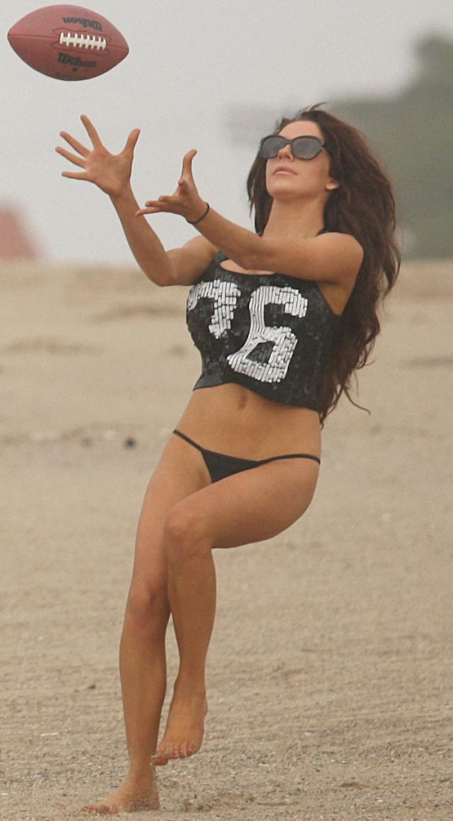 Courtney Stodden en bikini en Los Ángeles